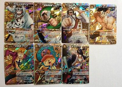 One Piece Miracle Battle Carddass Miracle Set OP10 7/7