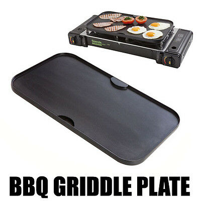 Gasmate Twin Double Bbq Hot Plate Griddle