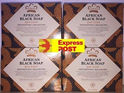 4 BARS Nubian Heritage Bar Soap African Black YOUR BUYING 4 BARS
