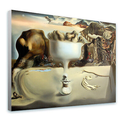 BIG Canvas Salvador Dali Apparition of Face and Fruit Dish 27x20 inch photos