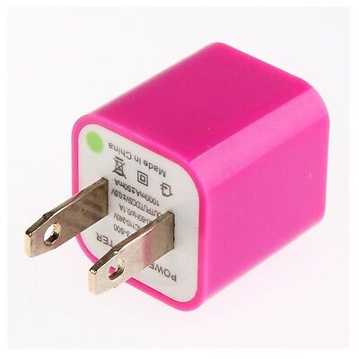 US AC Wall Charger USB Power Adapter Plug 1A for Mobile Phone SmartPhone Rose Pi