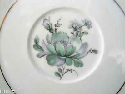 """Saucer""  Blue Rose pattern by Royal Bayreuth"