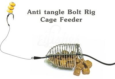 Carp Fishing Safety lead Clips Bait Feeder - Anti tangle Bolt Rig Fishing Tackle