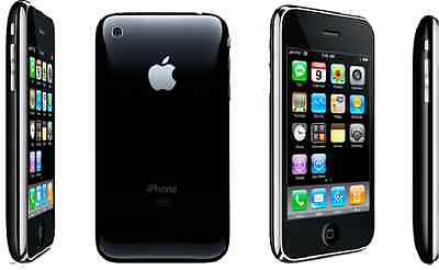 Apple iPhone 3G - 8GB - Black (AT&T) Smartphone EXCELLENT CONDITION
