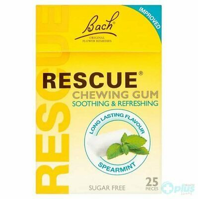 Rescue Spearmint Chewing Gum - 17 Pieces