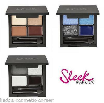 Sleek Make Up I- Quad Eyeshadow & Eyeliner - Choose from 3 Variations