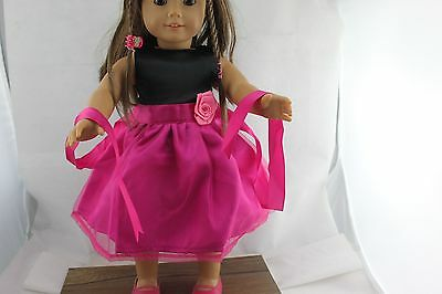 "lovely Doll Clothes fits 18"" American Girl Handmade Hot Summer Dress X83lovely"