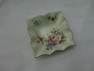 Decorative Sguare Dish / Tray by OLD FOLEY / James Kent / Staffordshire / 6544