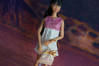 2015 GORGEOUS Handmade The original clothes dress for barbies doll c53