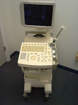 GE Logiq 200 Pro Ultrasound System with 2 Probes