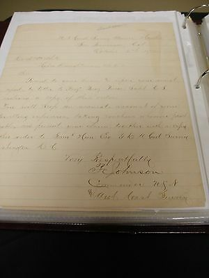 Autograph Letter Signed by Philip Carrigan Johnson Jr.