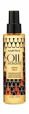 Matrix Oil Wonders Indian Amla Strengthening  oil 125ml