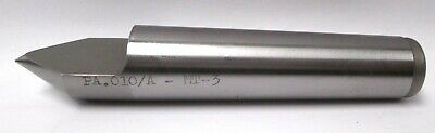 Dead High Speed Steel Tipped MT2 Morse Taper #2 Half Lathe Center