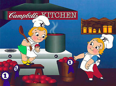 How We Make Tomato Soup Campbell's Soup Co Advertising Art Kids Drayton UF