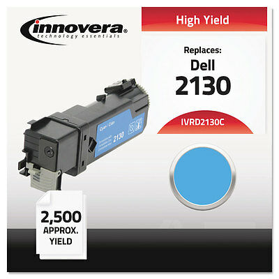 Compatible with 330-1437 (2130cn) Toner, 2500 Yield, Cyan