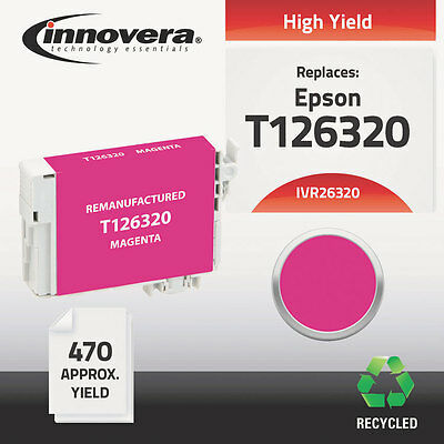 26320 Compatible Reman T126320 (T-126) Ink, 470 Page-Yield, Magenta