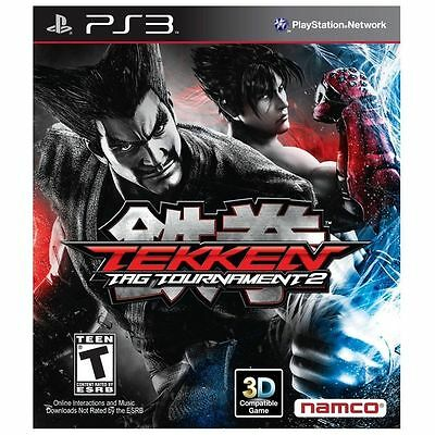 Tekken Tag Tournament 2  (Sony Playstation 3, 2012) *Works Great*