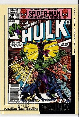The Incredible Hulk Movie 2003 Marvel Famous Hulk Covers Trading Card #23 1981