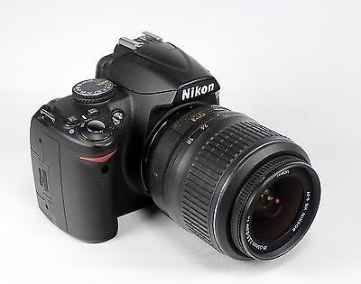 Nikon D3000 10.2 MP Digital SLR Camera - Black (Body Only)