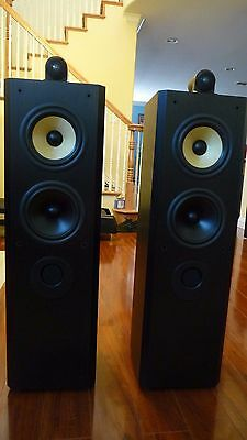 B&W BOWERS AND WILKINS Matrix 804 Speakers (Pair) Mint Condition!
