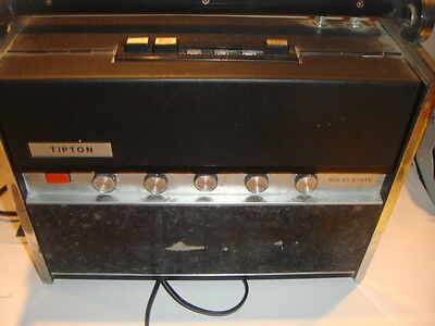 SOLID STATE TIPTON SHORTWAVE RADIO VINTAGE MODEL MB-8980 GOOD FOR PARTS