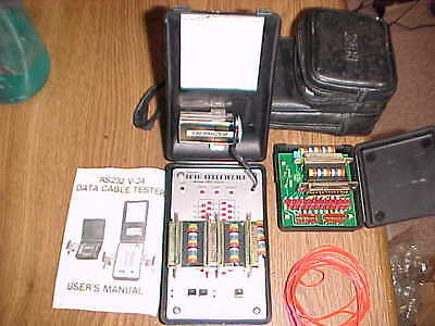 Hex RS232 Data Tester Model HEX-25CH (2 Testers) with case