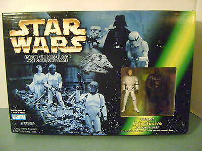 Star Wars Escape the Death Star Action Figure Game 1998 Parker Brothers