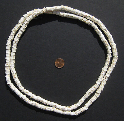 African Fish Bone Beads (7-9mm) West Africa