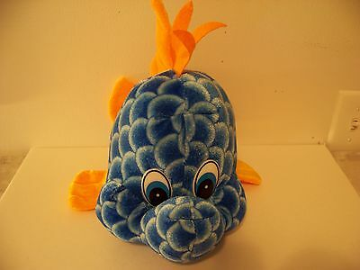 "VERY COLORFUL 14"" LONG PLUSH FISH FROM CIRCUS CIRCUS LAS VEGAS / RENO"