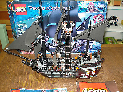 LEGO PIRATES OF THE CARIBBEAN BLACK PEARL COMPLETE w/BOX