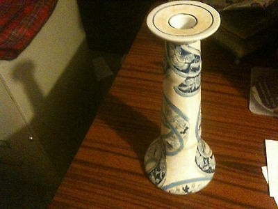 antique chinese porcelain  candle holder