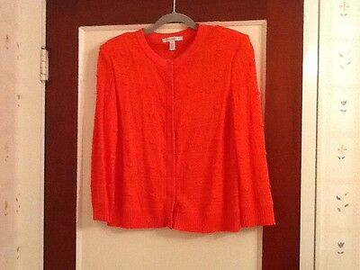 St. John Knit Cardigan Sweater Spring 2009 Collection Size M
