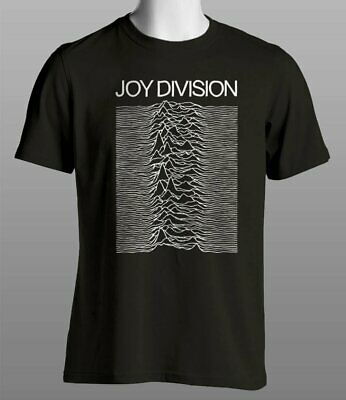 "Joy Division - Unknown Pleasures ""Sound Wave"" T Shirt"