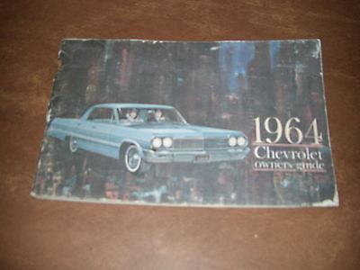1964 chevrolet owners manual