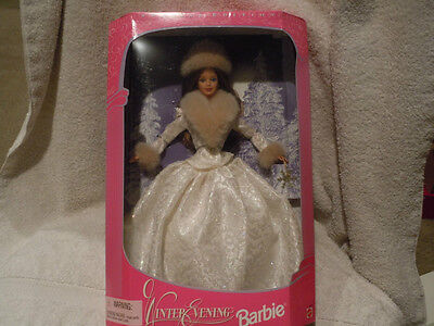 1998 Special Edition Winter Evening Barbie Doll - Brunette