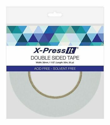 Double Sided Tape Clear 6mm x 50m for craft, scrapbooking, machine embroidery
