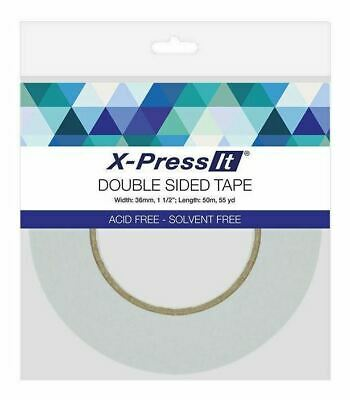 Double Sided Tape Narrow - Clear 6 Mm