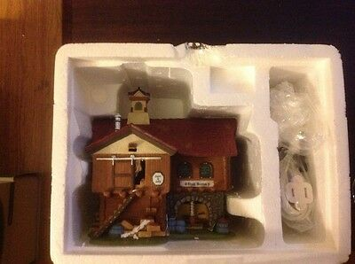 Dept 56.  The cranberry house.  New England village