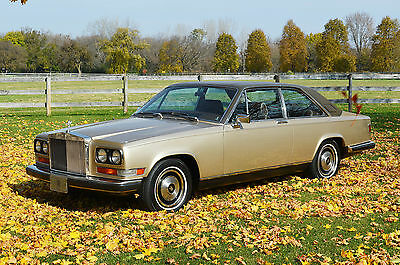 Rolls-Royce : Other Camargue 1 owner stunning condition collectable only 531 made last year built
