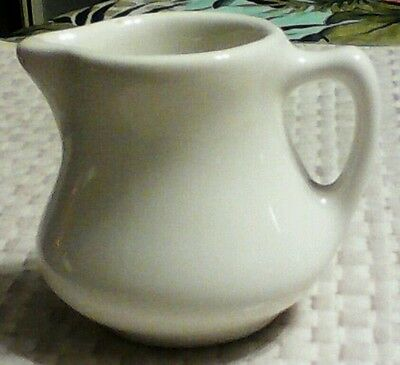 H F Coors 160 China Pottery Creamer Restaurant Ware Heavy Duty Cream Pitcher