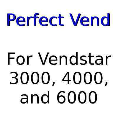 A Perfect Vend Everytime For Vendstar 3000 4000 6000 Candy Machines