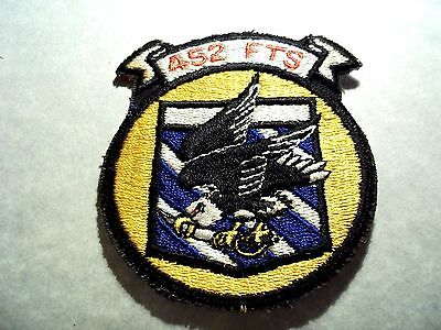 U.S. AIR FORCE 452nd FIGHTER TRAINING SQUADRON PATCH