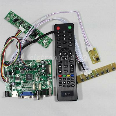 HDMI VGA AV Audio USB FPV lcd driver board for 9.7inch LP097X02 1024x768 IPS LCD
