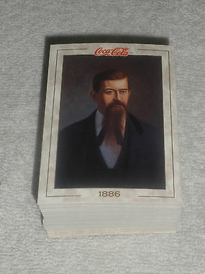 1993 Full Set Coca Cola Collectible 100 Trading Cards Series One
