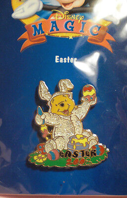 "Winnie The Pooh ""Easter"" 12 Months of Magic Disney Pin"