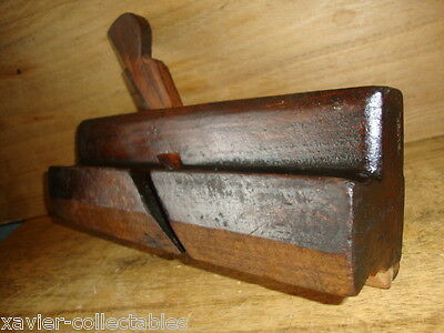 "Vintage Wm WILLIAM MOSS  2 1/8""w SASH Ovolo/Ogee 1"" WOODEN MOULDING PLANE 5z"