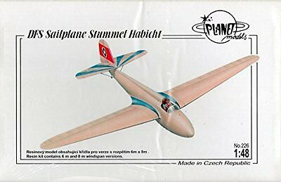 DFS Sailplane Stummel Habicht Planet Models  1/48
