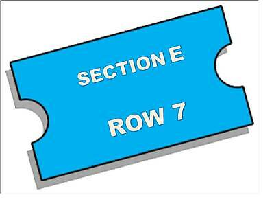 2 Madonna tickets 9/17/15 Madison Square Garden FLOOR SECTION E NEAR HEART STAGE