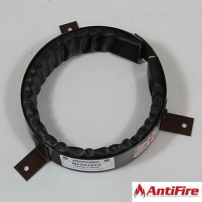 Intumescent Pipe Collars - 2 Hour Fire Stopping Protection - Sizes 45mm to 450mm