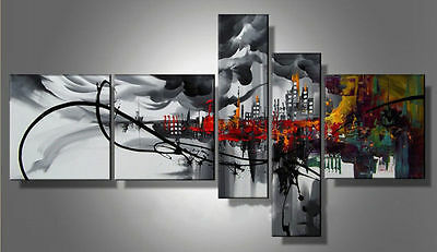 Modern Abstract Huge Wall Art Oil Painting On Canvas no frame
